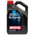 MOTUL 2000 Multigrade 20W-50 (5 L)