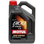 Motul 8100 X-clean 5W-40 (5 L) C3 Motorolaj