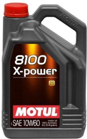 Motul 8100 X-Power 10W-60 (4 L) + Ajándék 1 Liter motorolaj