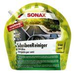 Sonax nyári szélvédőmosó -kevert, ZÖLD CITROM (3 L)