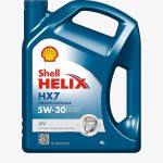 Shell Helix HX7 Professional AV 5W-30 (4 L) 505.01
