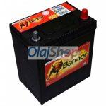 Banner Akkumulátor 40AH 300A J+ Asia vékony (H:187mm;Sz:127mm;M:204mm)