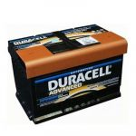 Duracell Advanced (DA 72) 72AH 670A J+ Autó Akkumulátor