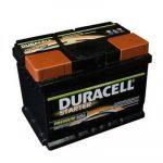 Duracell Starter (DS 55) 55AH 450A Jobb+