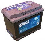 Exide EB620 (62AH 540 A)  excell J+