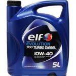 ELF EVOLUTION 700 Turbo Diesel 10W-40 (5 L)