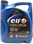 Elf Evolution RN-Tech Elite 5W-30 (5 L) RN17