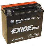Exide Bike ETX20H-BS Motorkerékpár, Robogó, Jetski akkumulátor