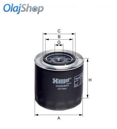 HENGST H205W01 olajszűrő