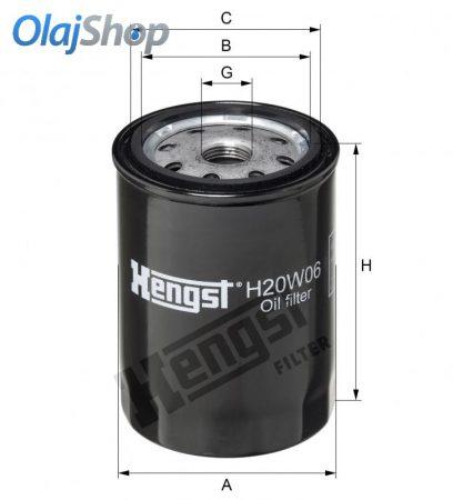 HENGST H20W06 olajszűrő
