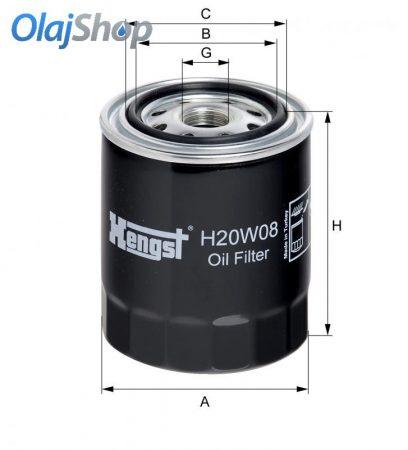 HENGST H20W08 olajszűrő