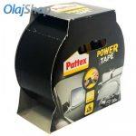 Pattex LOC1210744 Power Tape Rögzítő, javító, fekete ragasztószalag (10 m)