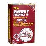 Mannol 7914 Energy Formula JP 5W-30 fémdobozos (4 L) Motorolaj