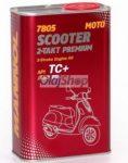 Mannol 7805 2T PREMIUM SCOOTER FÉMDOBOZOS (1 L) Motorkerékpár olaj