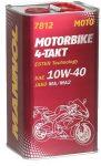 MANNOL 7812 4T MOTOBIKE 10W-40 fémdobozos (4 L)
