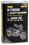 Mannol 7808 V-Twin for Harley Dawidson 20W-50 (1 L)