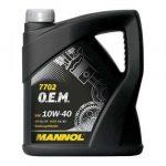 MANNOL 7702 O.E.M. for CHEVROLET/OPEL 10W-40 (4 L) Motorolaj