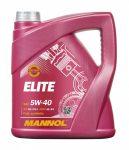 MANNOL Elite 5W-40 (4 L) motorolaj