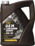 MANNOL 7723 O.E.M. 5W-30 API SN/CF JAGUAR (5 L) Motorolaj