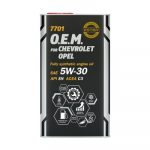 MANNOL 7701 O.E.M. for CHEVROLET / OPEL 5W-30 fémdobozos (4 L) Motorolaj