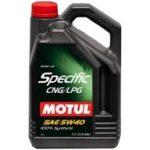 Motul Specific CNG/LPG 5W-40 (5 L)