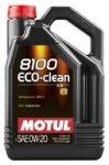 MOTUL 8100 ECO-CLEAN 0W-20 (5 L) ACEA C5