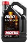 MOTUL 8100 X-CESS GEN2 5W-40 (5 L) A3/B4