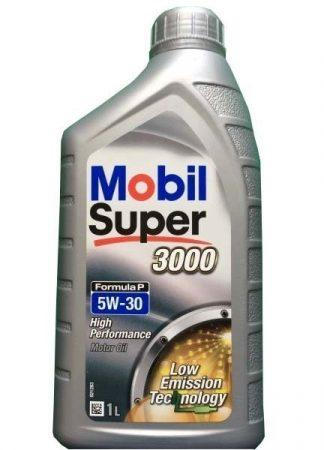 Mobil Super 3000 Formula P 5W-30 C2 (1 L) Motorolaj
