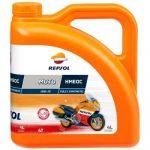Repsol MOTO RACING HMEOC 4T 10W-30 (4 L) +AJÁNDÉK láncspray 400ml