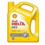 SHELL HELIX HX5 15W-40 (4 L)