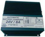 T2408B Akkumulátortöltő 24V/8A-Iuu