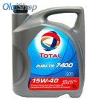 Total Rubia TIR 7400 15W-40 (5 L) CI-4