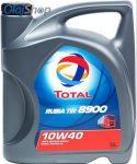 Total Rubia TIR 8900 10W-40 CI-4 (5 L) Haszongépjármű motorolaj