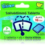 Doc Vision - Nyári szélvédőmosdó tabletta 4 db = 16 Liter