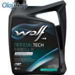 WOLF Officialtech 5W-30 LL III (4 L) motorolaj