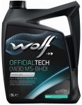 Wolf OfficialTech 0W-30 MS-BHDI (5 L) C2