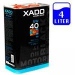 Xado Luxury Drive Black Edition 5W-40 SM 4 Liter motorolaj