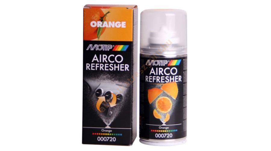 Motip 000720 Légkondi és utastér frissítő spray-narancs (150 ML)