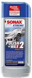Sonax Xtreme Polish&Wax 2 -polírozó és viasz (250 ml)