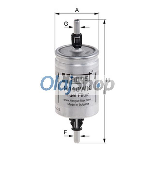 Hengst H110WK(PP 905) üzemanyagszűrő, H110WK