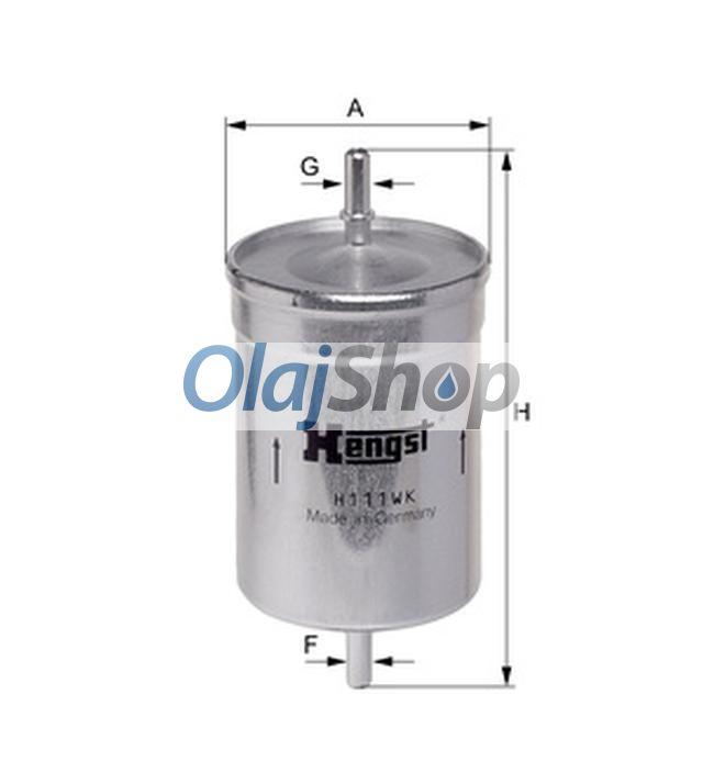 Hengst H111WK(PP 836/1) üzemanyagszűrő, H111WK