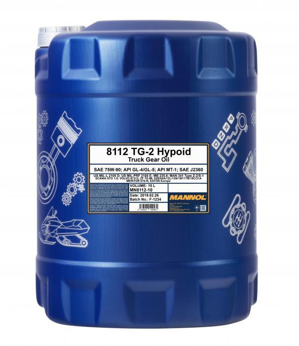 Mannol 8112 TG-2 Hypoid 75W-90 (10 L)