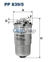 Filtron Üzemanyagszűrő (PP 839/5)