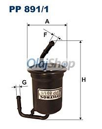 Filtron Üzemanyagszűrő (PP 891/1)